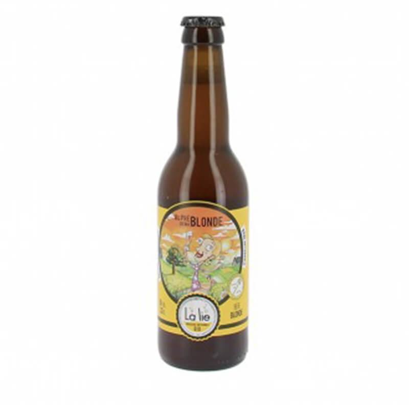 Bière bio Au pré de ma blonde - 33cl