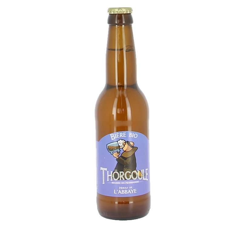 Bière bio Thörgoule - Herulf de l'abbaye  - 33cl
