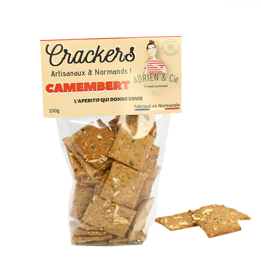 Crackers au Camembert - 100g