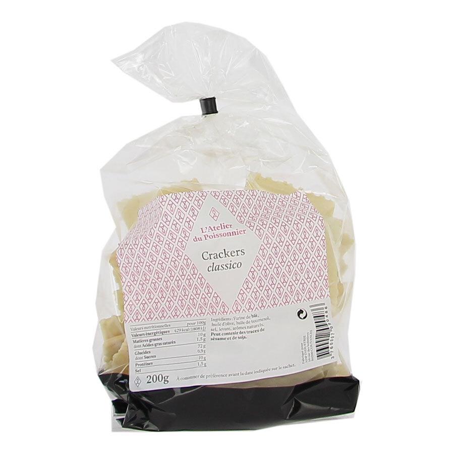 Crackers salés et croustillants - 200g