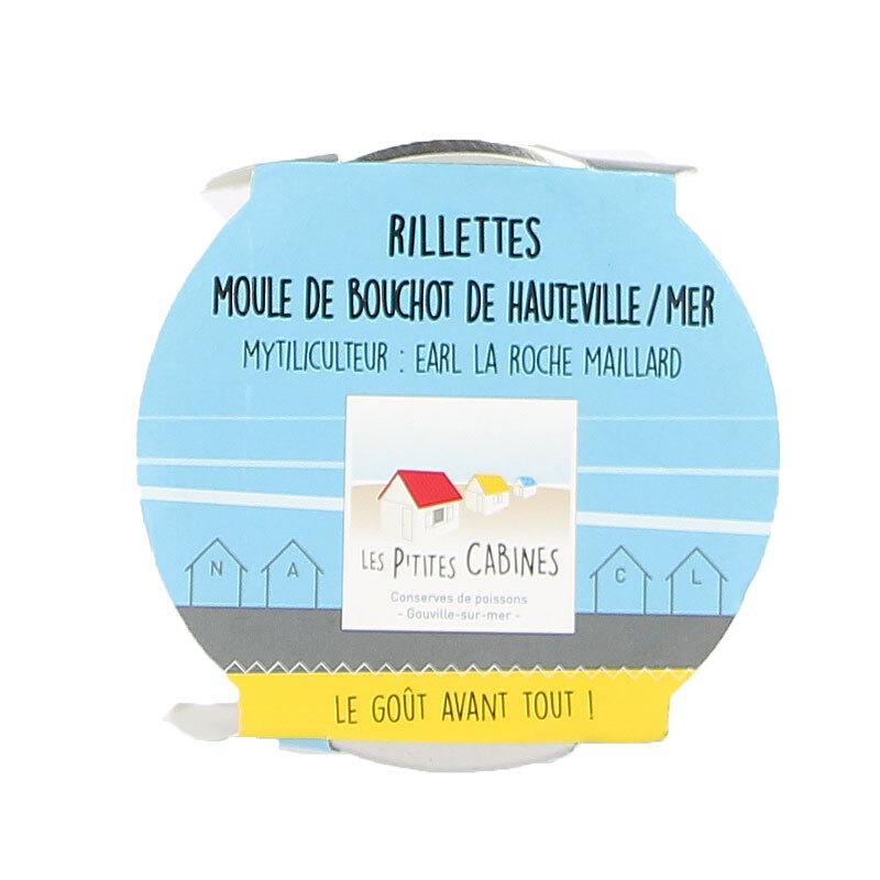 Rillettes de moule de Bouchot de Hauteville-sur-mer - 90g