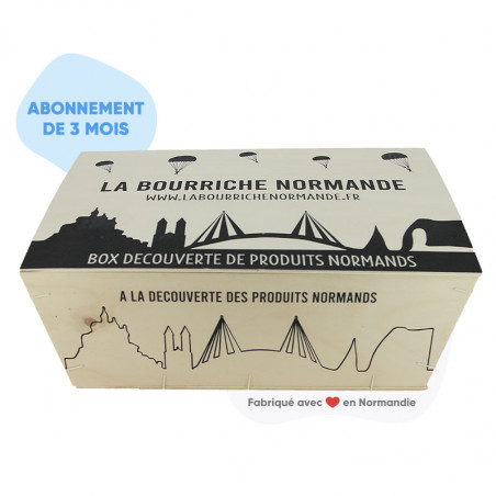Bourriche normande box gourmande Abonnement 3 mois
