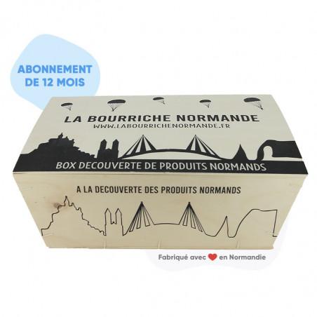 Bourriche normande box gourmande Abonnement 12 mois