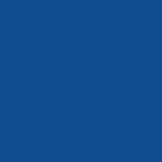 rond decor bleu